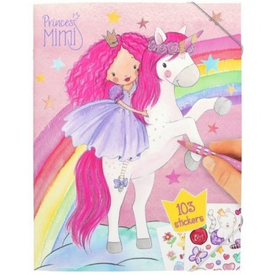Princess Mimi Colouring Book
