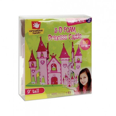 Kit  Foamy 3-D: Castillo Princesa