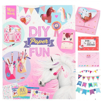 DIY Paper Fun Miss Melody