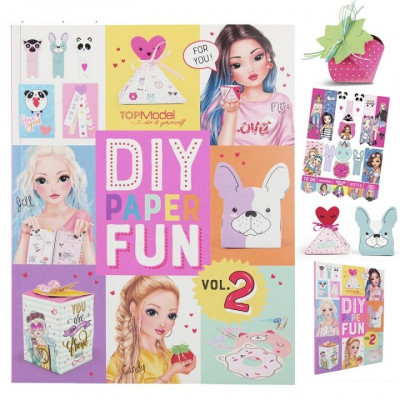 DIY Paper Fun TOPModel Vol.2