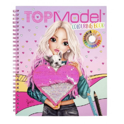 Heart Colouring Book TOPModel
