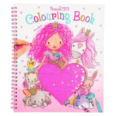 Princess Mimi Heart Colouring Book